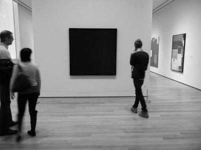artist AD REINHARDT exhibition