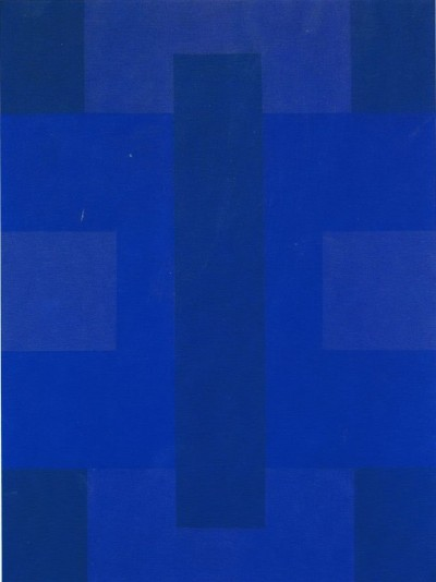 artist AD REINHARDT blue new york