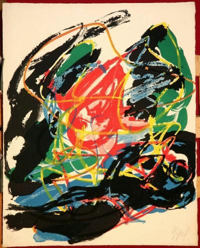 Bert Schierbeek painting
