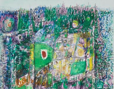 Bertil Sjoeberg painting