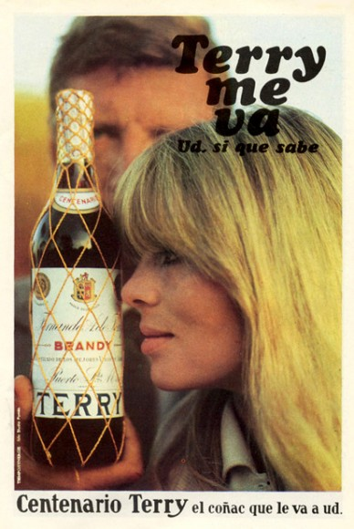 nico modeling for terry magazine ad