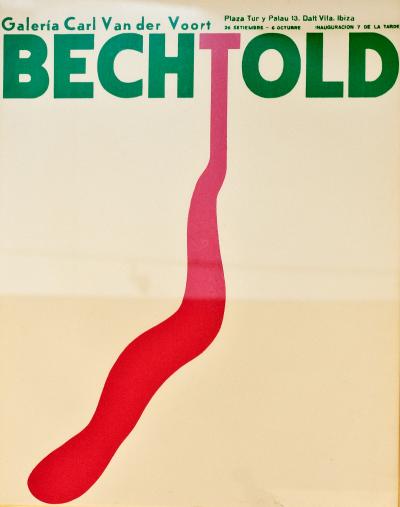 Carl Van der Voort gallery bechtold exhibition poster ibiza