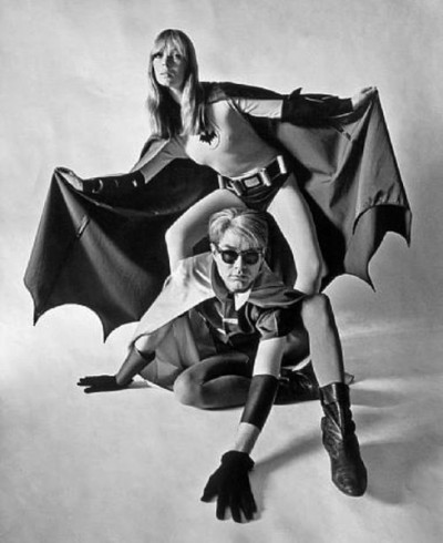 nico with andy warhol batman