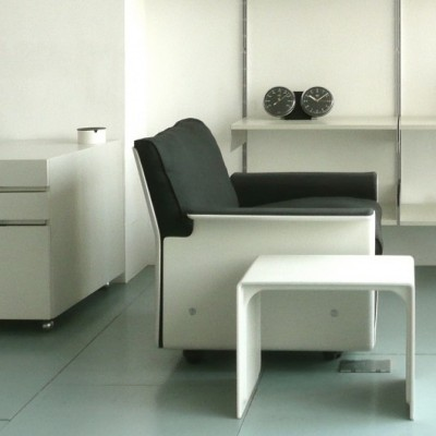 Dieter Rams design industrial arm chair