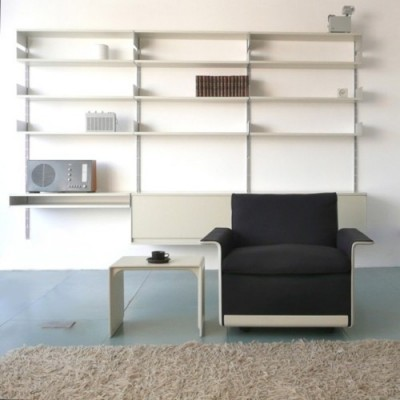 Dieter Rams design industrial arm chair