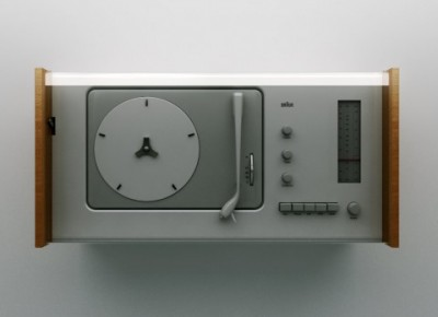 Dieter Rams design industrial audio system record player vynil