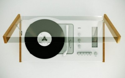 Dieter Rams design industrial audio system record player vynil wood