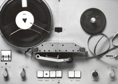 Dieter Rams design industrial audio system