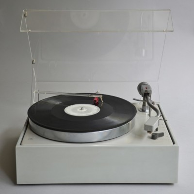 Dieter Rams design industrial audio system record player