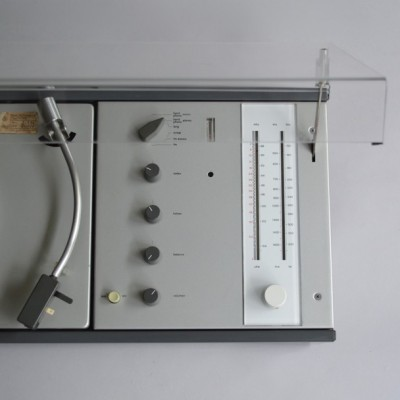 Dieter Rams design industrial audio system player