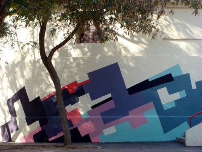 nuria mora street wall