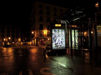 nuria mora bus stop street art