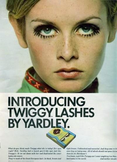 twiggi magazine comercial for lashes