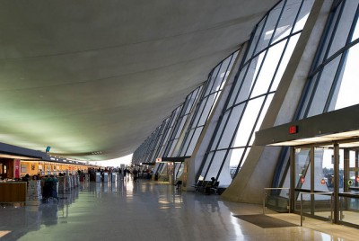 Dulles International airport, Washington D.C by architect eero saarinen