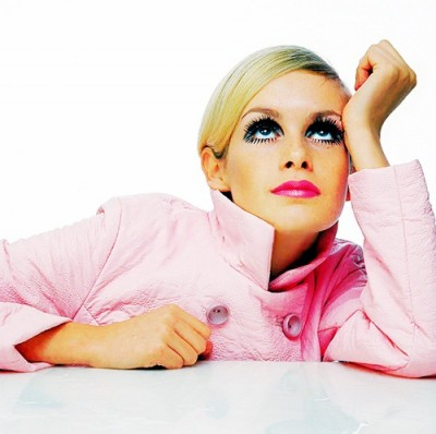 twiggy in pink style fashion london