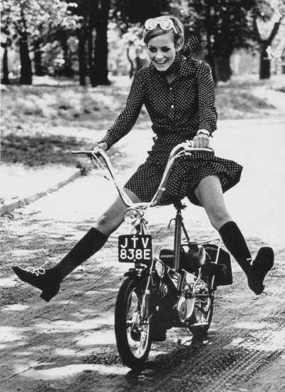 twiggy bike ride