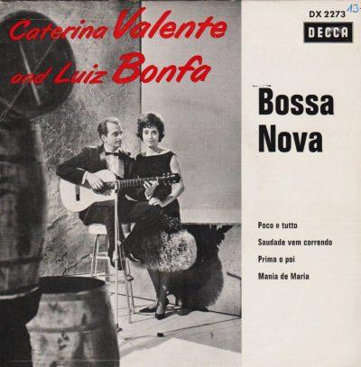 LUIZ BONFA e CATERINA VALENTE album cover