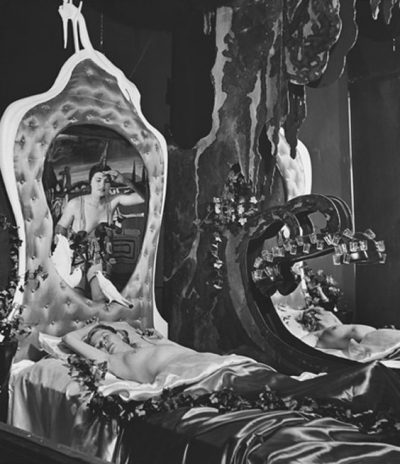 Bed of Venus, 1939 Salvador Dali's Worlds Fair Pavilion