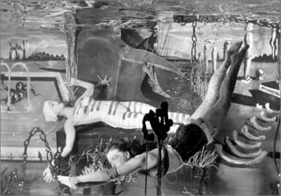 Eric Schaal-the Dream of Venus Pavilion-uderwater scene-dali