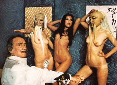 dali with play boy bunnies