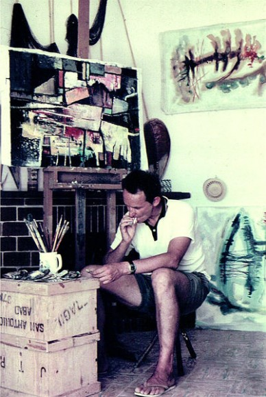 robert_BogartTill in his house / studio ibiza 50s