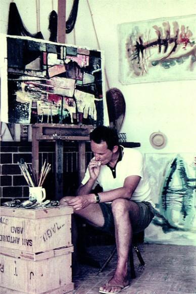 robert_BogartTill in his house / studio ibiza 50s