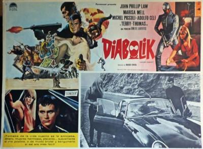 danger diabolik film poster