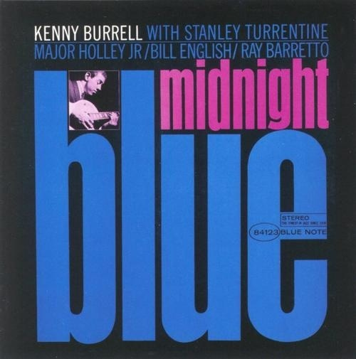 kenny burrell blue midnight album cover