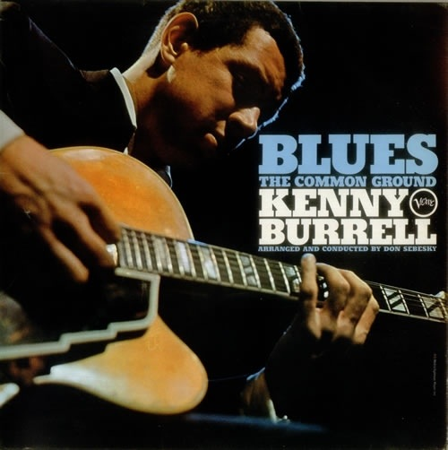 kenny burrell blues the common ground album cover