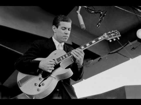 kenny burrell playing guitar in the recording studio