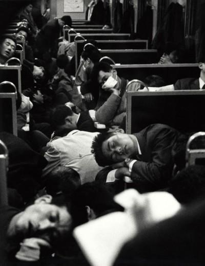 japan commuting train by nicolas bouvier