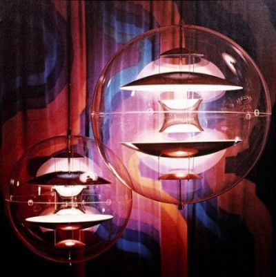 verner panton lighting design