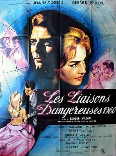 les +liaison dangereuses 1960 film poster