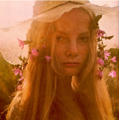 david hamilton model with floers in the hair
