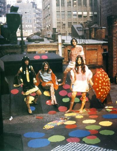 1968 yayoi kusama fashion show new york