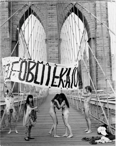 kusama obliteration new york