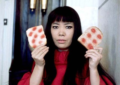 kusama+dots+bread