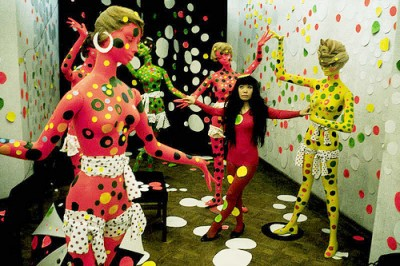 kusama+fashion-art-show