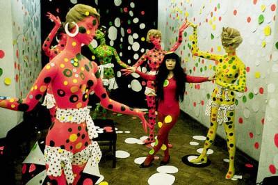 kusama+fashion-art-show