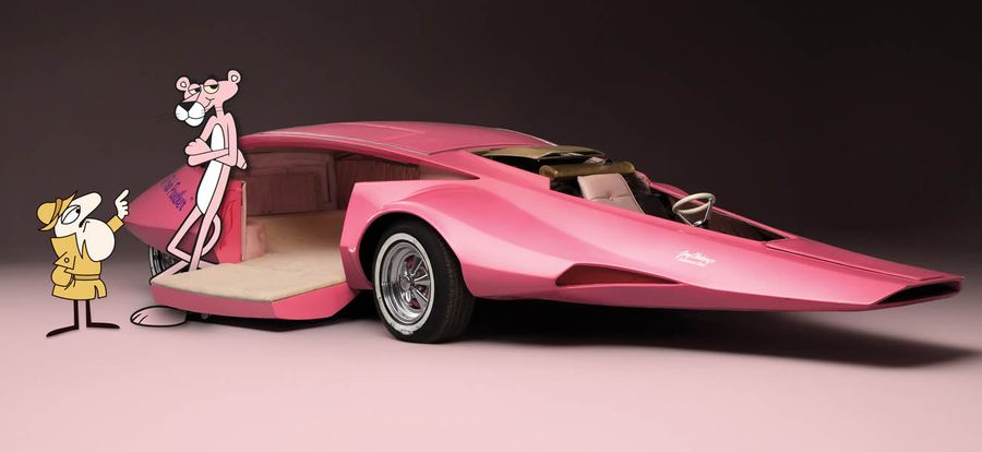 PINK PANTHER CAR - FORMIDABLE MAG - Cars