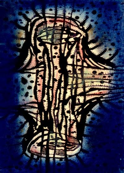 The Germ, 1952-kusama artwork
