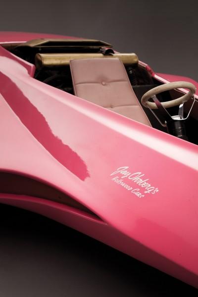 The-Original-Pink-Panther-Panthermobile- driver's seat