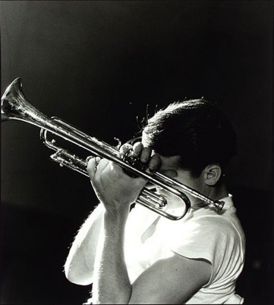 chet baker photo shooting
