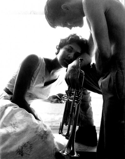 chet baker with woman