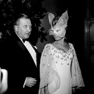 Henry Ford II and Wife at Costume Party