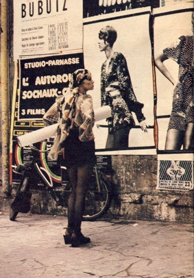 ossie clark+london+fashion+60s