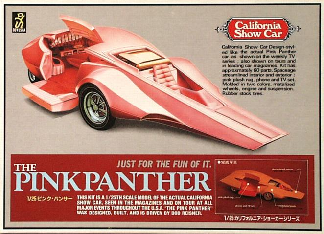 Big Toy Cars >> PINK PANTHER CAR - FORMIDABLE MAG - Cars