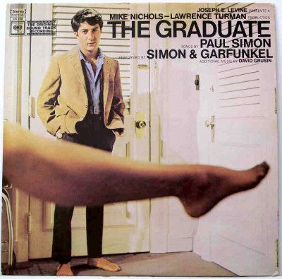 graduate+soundtrack+simon+garfunkel soundtrack album cover
