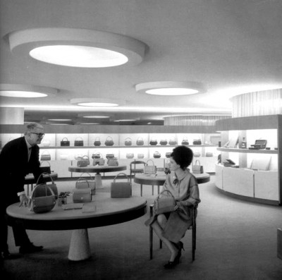 loewe+barcelona-retail interior decor 50s-Javier Carvajal