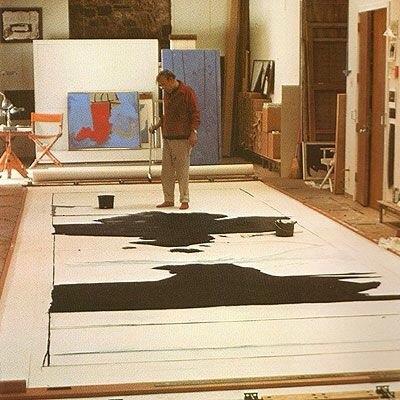 robert,motherwell,abstract expresionism,new york school,informalismo,50s,60s,modern,art,modero,moderne,arte,Philip Guston, Willem de Kooning, Jackson Pollock, and Mark Rothko.